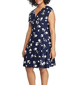 Chaps® Plus Size Floral Printed Dress