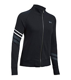 Under Armour® French Terry Graphic Warmup Jacket