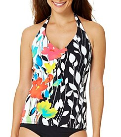 Anne Cole® Floral Engineered Tankini Top