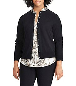 Chaps® Plus Size Cotton-Modal Cardigan