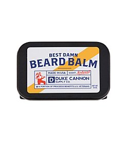 Duke Cannon Supply Co Best Damn Beard Balm, 1.6 oz.