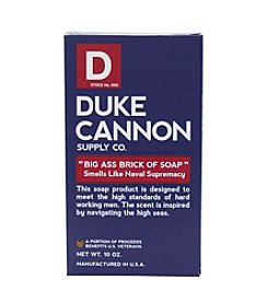 Duke Cannon Supply Co Big A.. Brick Of Soap - Naval Supremacy, 10 oz.
