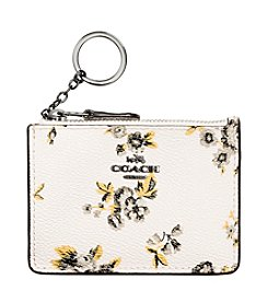 COACH MINI SKINNY ID CASE IN PRAIRIE PRINTED CANVAS