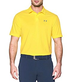 Under Armour® Men's Short Sleeve Microthread Polo Shirt
