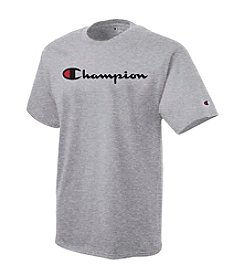Champion® Men's Short Sleeve Script Graphic Tee