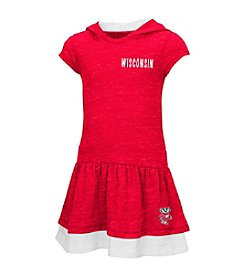 Colosseum® NCAA® Wisconsin Badgers Girls' 2T-5T Hooded Dress