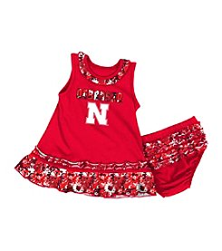 Colosseum® NCAA® Nebraska Huskers Baby Girls' Fountain Dress Set