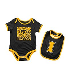 Colosseum® NCAA® Iowa Hawkeyes Baby Bodysuit And Bib Set