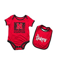 Colosseum® NCAA® Nebraska Huskers Baby Bodysuit And Bib