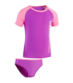 Under Armour® Girls' 4-16 Oasis Rashguard Set