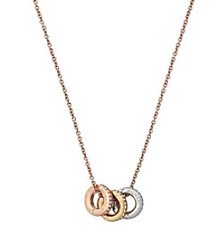 Michael Kors® Pave Multi Pendant Necklace