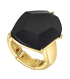 GUESS Jet Stone Stretch Ring
