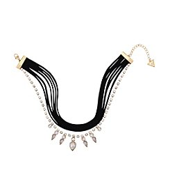 GUESS Multi Layer Choker Necklace