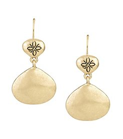 The Sak® Metal Double Drop Earrings