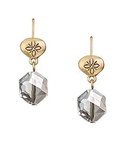 The Sak® Beaded Double Drop Earrings