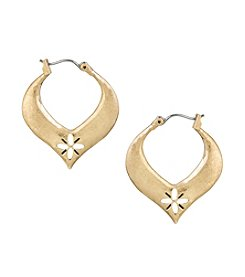 The Sak® Cut Out Tapered Hoop Earrings
