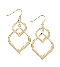 The Sak® Tapered Double Drop Earrings