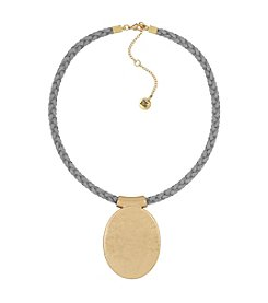 The Sak® Oval Disc Pendant Necklace