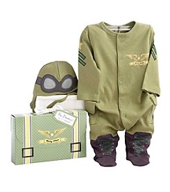 Baby Aspen Big Dreamzzz Baby Pilot 2 Piece Layette Set