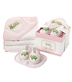 Baby Aspen Tillie the Turtle 4 Piece Bathtime Gift Set