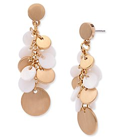 Anne Klein® Mother of Pearl Shaky Drop Earrings