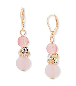 Anne Klein® Coral Multi Drop Earrings