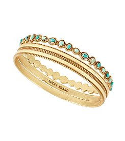 Lucky Brand® Turquoise Beaded Bangle Set
