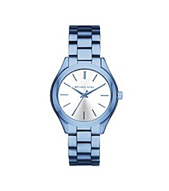 Michael Kors® Women's Mini Slim Runway Cerulean-Tone Watch