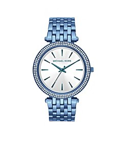 Michael Kors® Women's 39mm Darci Pavé Cerulean-Tone Watch