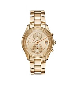 Michael Kors® Women's 40mm Briar Goldtone Stainless Steel Bracelet Watch