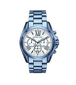Michael Kors® Women's Oversized Bradshaw Cerulean-Tone Watch
