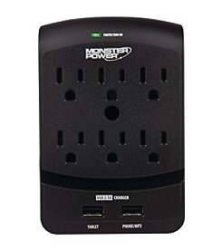 Monster Power 6-outlet Core Power 650 Wall Tap