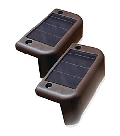 Maxsa Innovations Solar-Powered Deck Lights