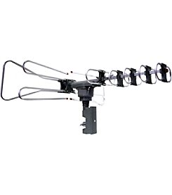 Naxa Amplified Outdoor TV Antenna with Remote Directional Control