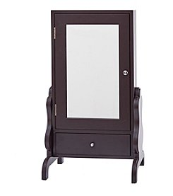 InnerSpace® Luxury Products Tabletop Mirror with Jewelry Storage