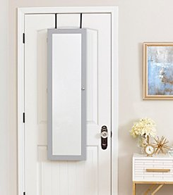 InnerSpace® Luxury Products Over-the-Door or Wall Mount Jewelry Armoire