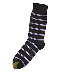 GOLD TOE® Simple Stripes Crew Socks