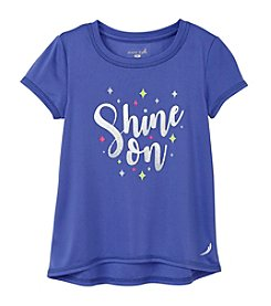 Exertek® Girls' 4-6X Shine On Graphic Tee