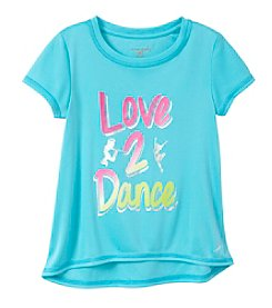 Exertek® Girls' 4-6X Love 2 Dance Tee