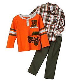 Nannette® Baby Boys' Truck Top And Pants Set