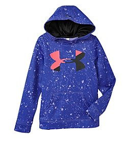 Under Armour® Girls' 4-16 Novelty Big Logo Hoody