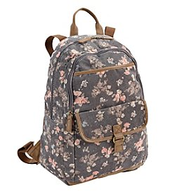 Ruff Hewn Corduroy Floral Backpack