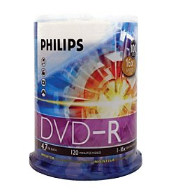 Philips 17 4.7gb 16x Dvd-rs (100-ct Cake Box Spindle)
