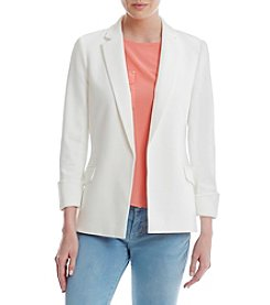Calvin Klein Notch Lapel Open Jacket