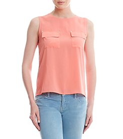 Calvin Klein Pocket Blouse