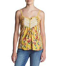 Skylar & Jade® Floral Mix Swing Tank Top