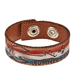 Men's Leather Summerfest Bracelet