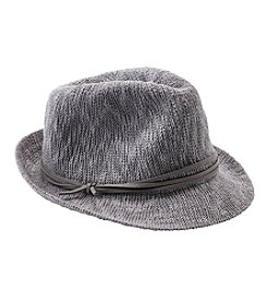 Nine West® Textured Knit Fedora Hat