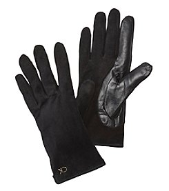 Calvin Klein Basic Leather Gloves
