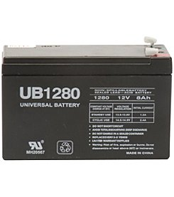 Upg Sealed Lead Acid .187 Batteries